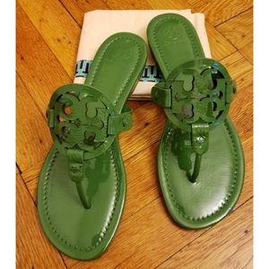 Tory Burch Miller sandals 8.5 Arugula